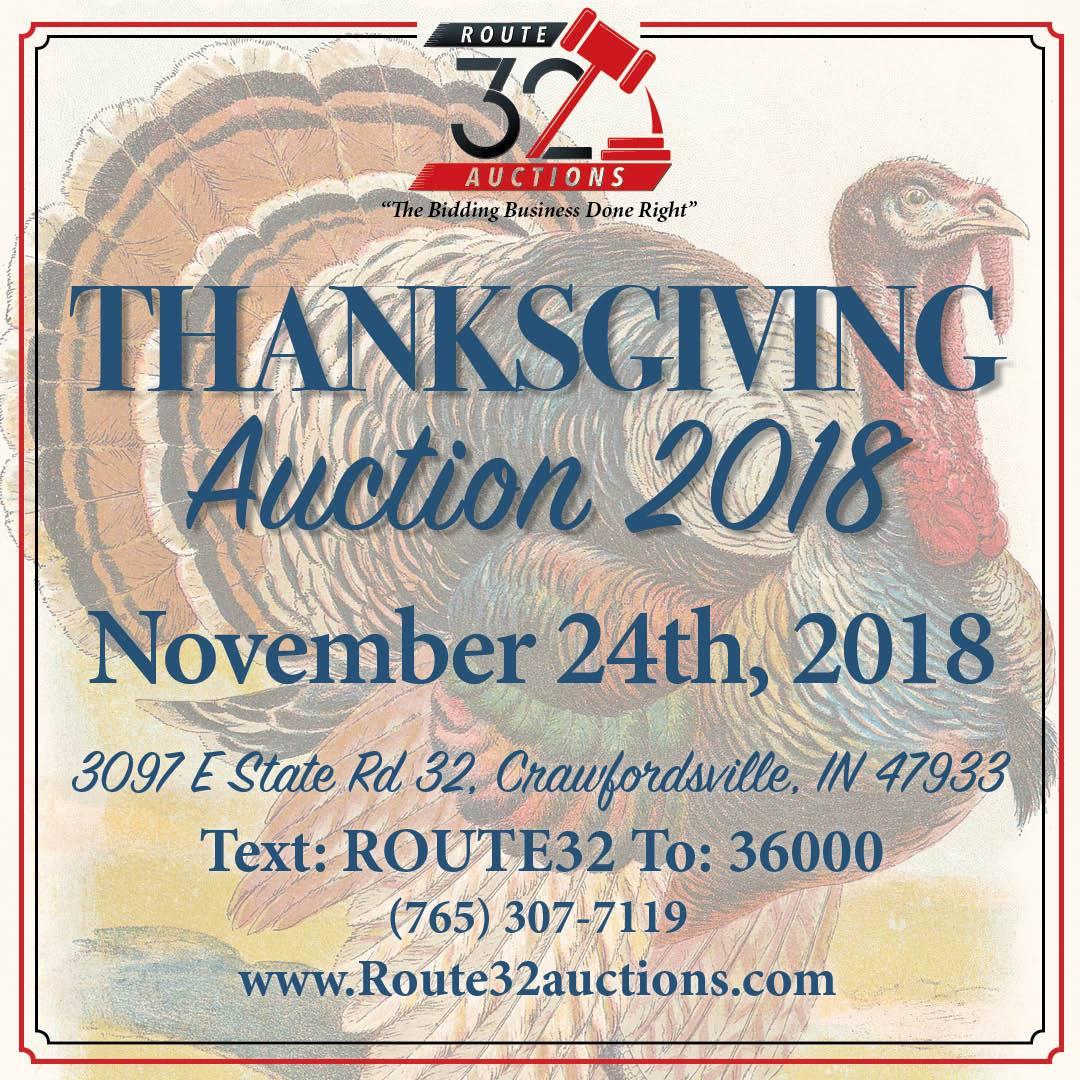 Past Auctions Archives - Route 32 Auctions