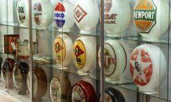 gas pump globe restoration