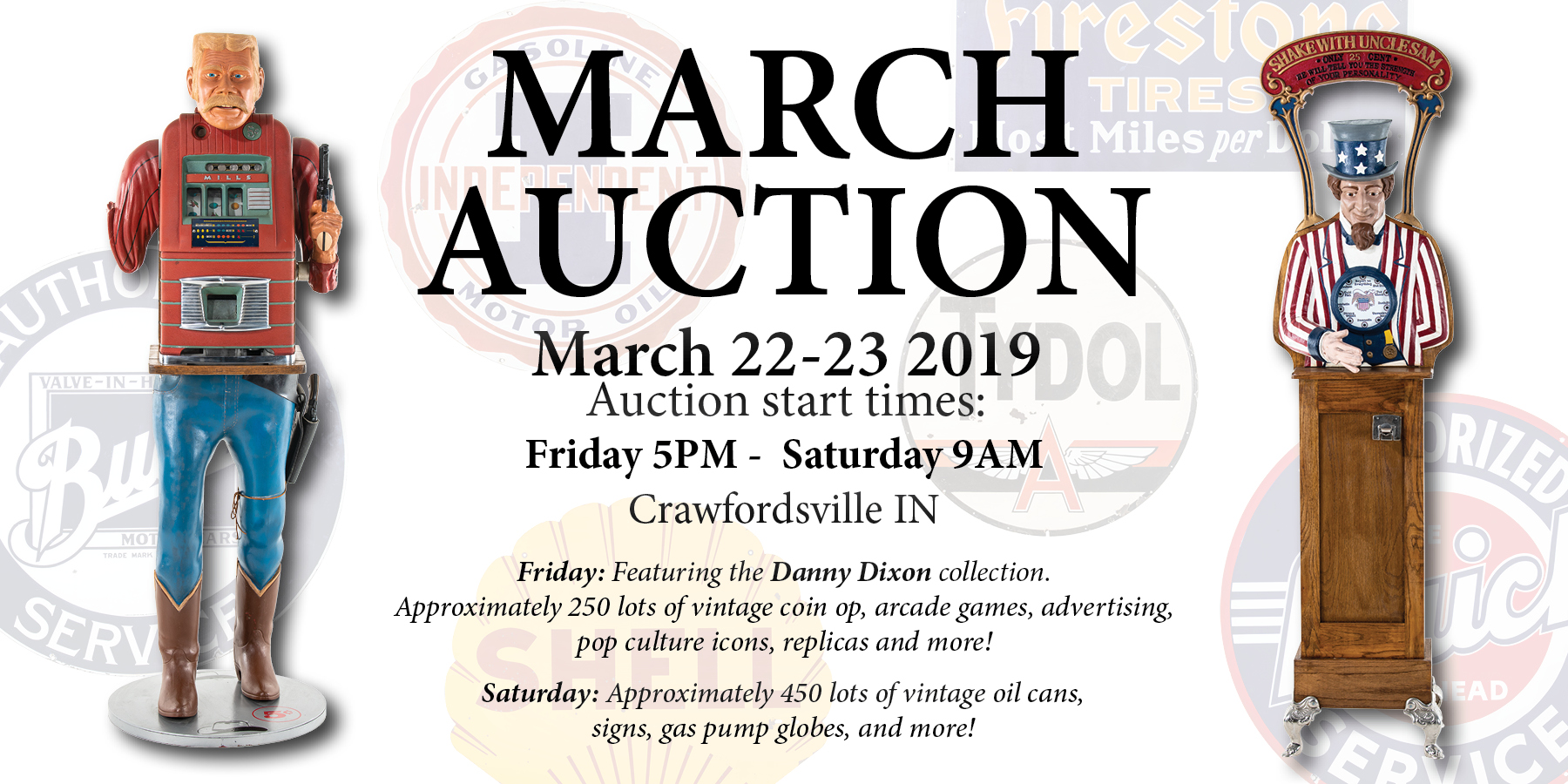 March Auction