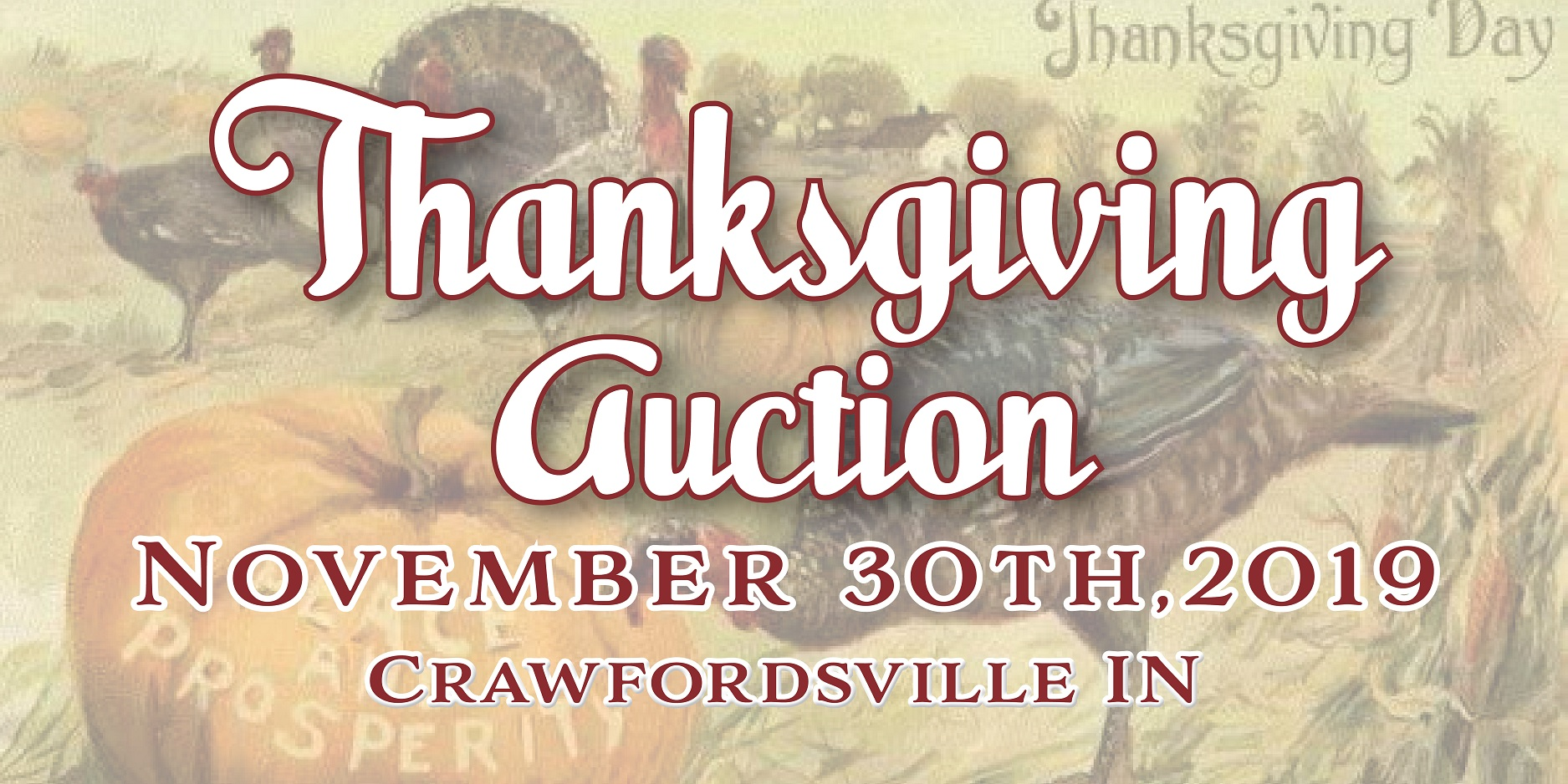 2019 Thanksgiving Auction