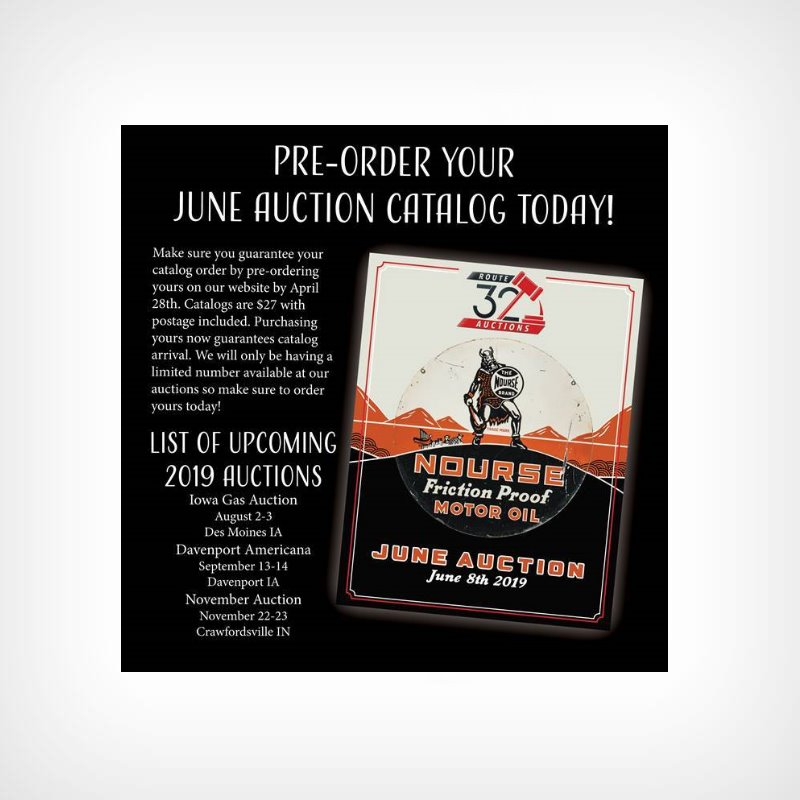 4435750fc8 Pre-Order June 2019 Auction Catalog - Route 32 Auctions