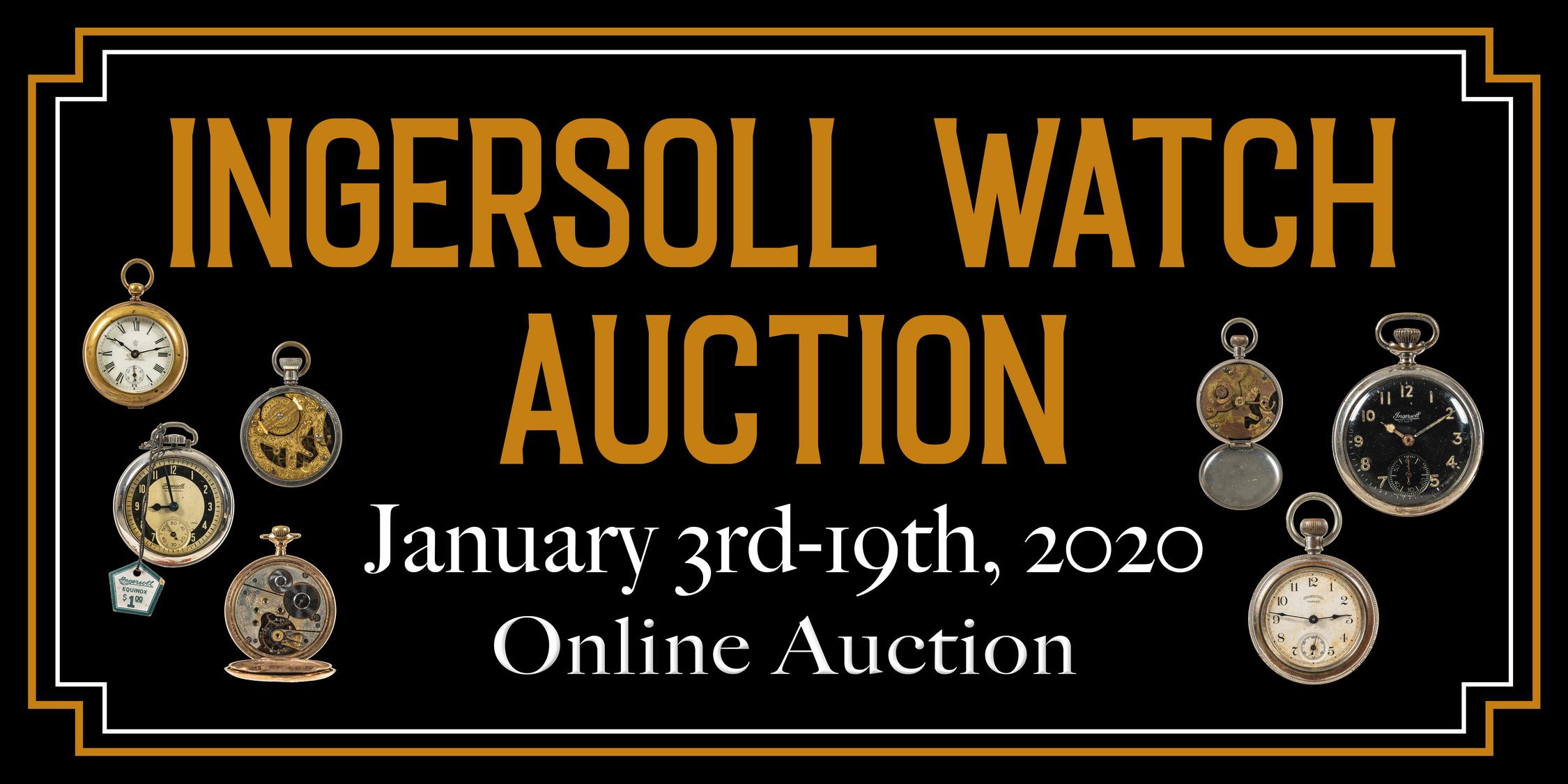 Ingersoll Watch Auction