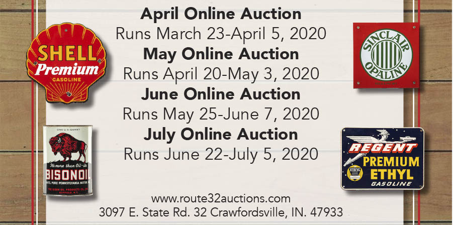 May 2020 Online Auction